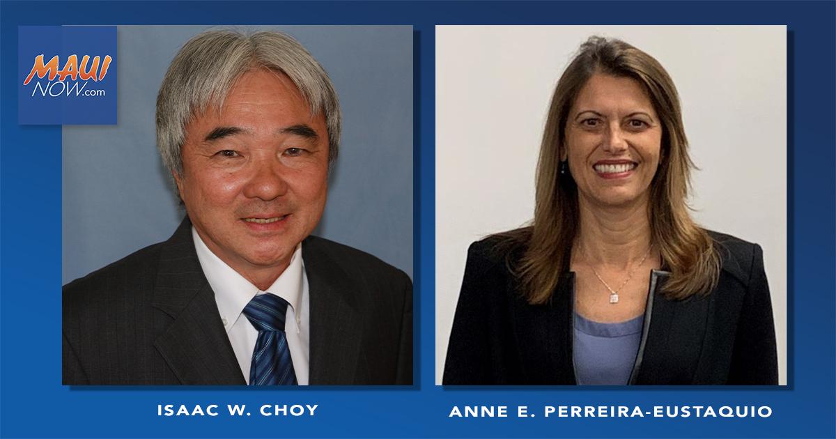 Isaac W. Choy and Anne E. Perreira-Eustaquio