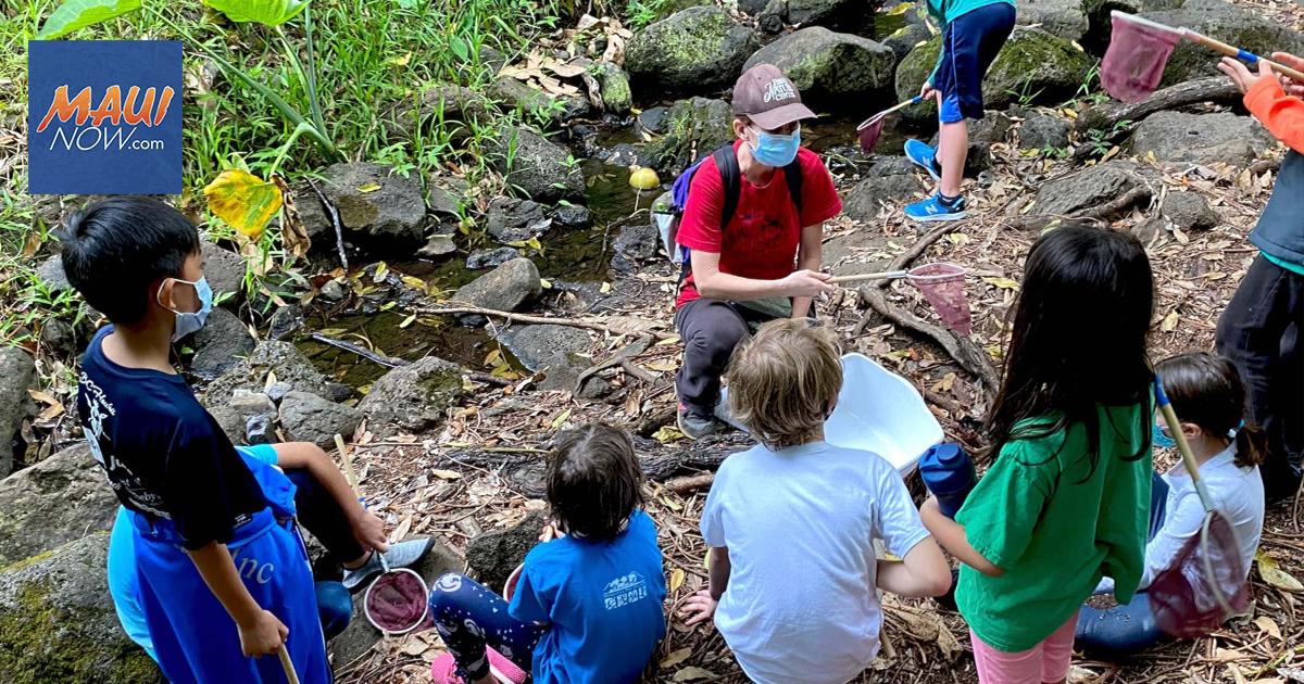 Hawai'i Nature Center Launches Maui Weekday Environmental Education Program