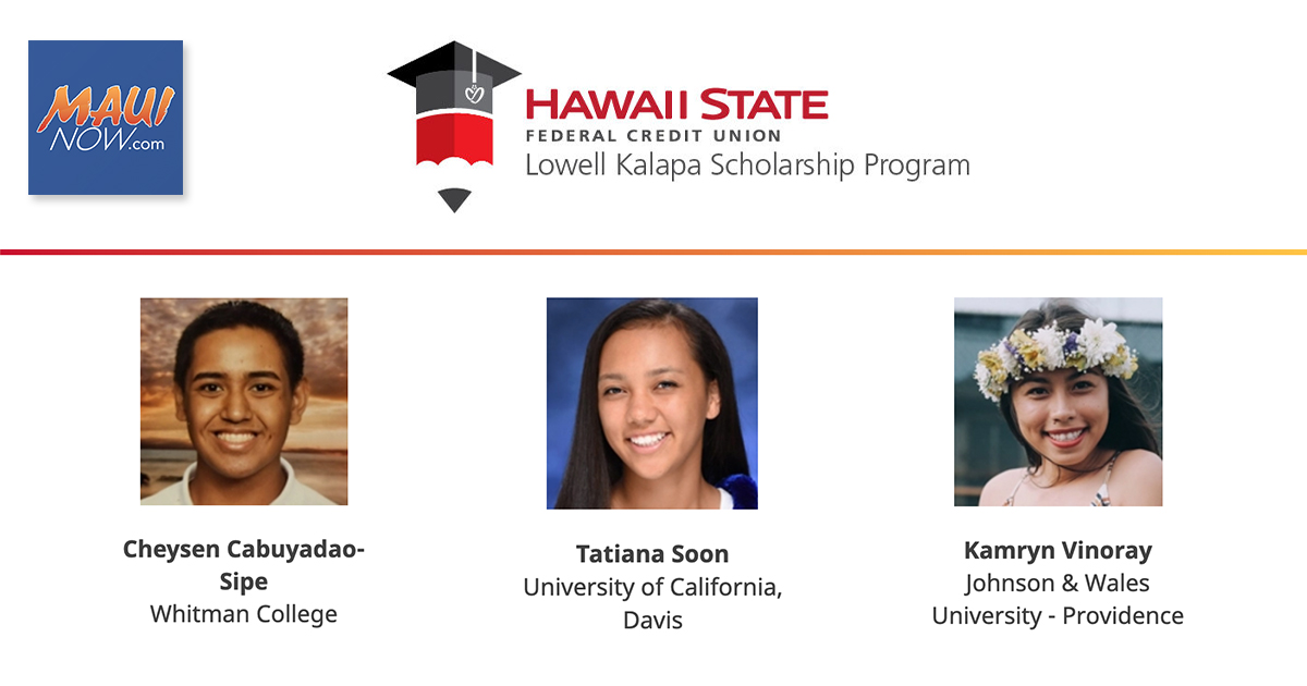 Hawai'i State FCU Awards $100,000 In Scholarships To Hawai'i Students