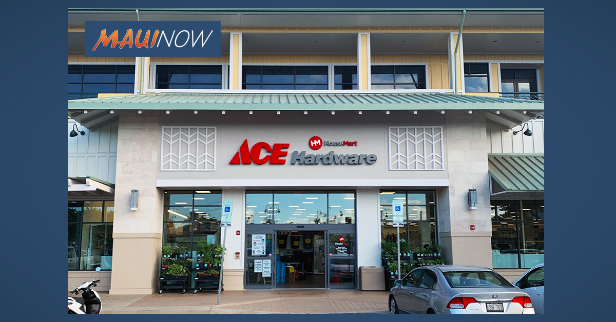ACE Hardware Grand Opening at Lahaina Gateway, Aug. 22