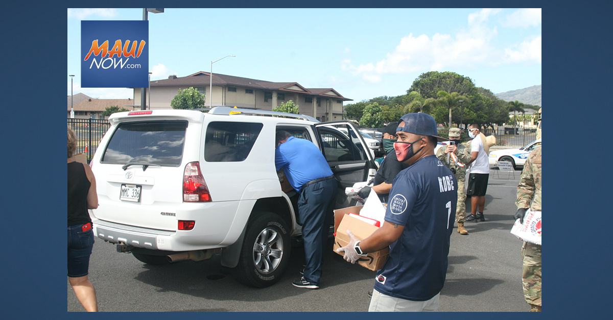 Sixth Bayanihan Food Distribution on Saturday, Oct. 31 at Binhi at Ani in Kahului