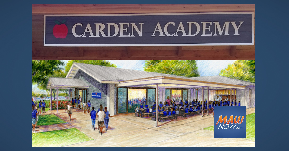 Carden Academy of Maui Confirms Two Students Tested Positive for COVID-19