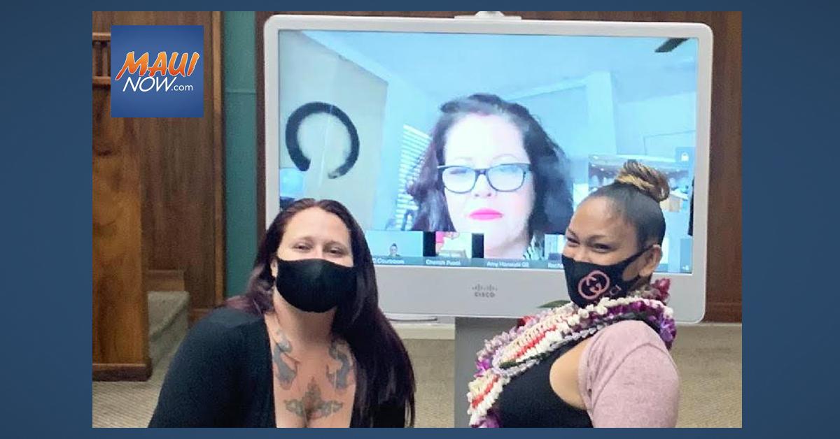 Maui Court Drug Court Graduation Features Surprise Guest Amy Hānaiali'i