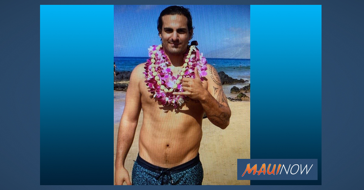 Missing Person: Man Known to Frequent Kīhei Area