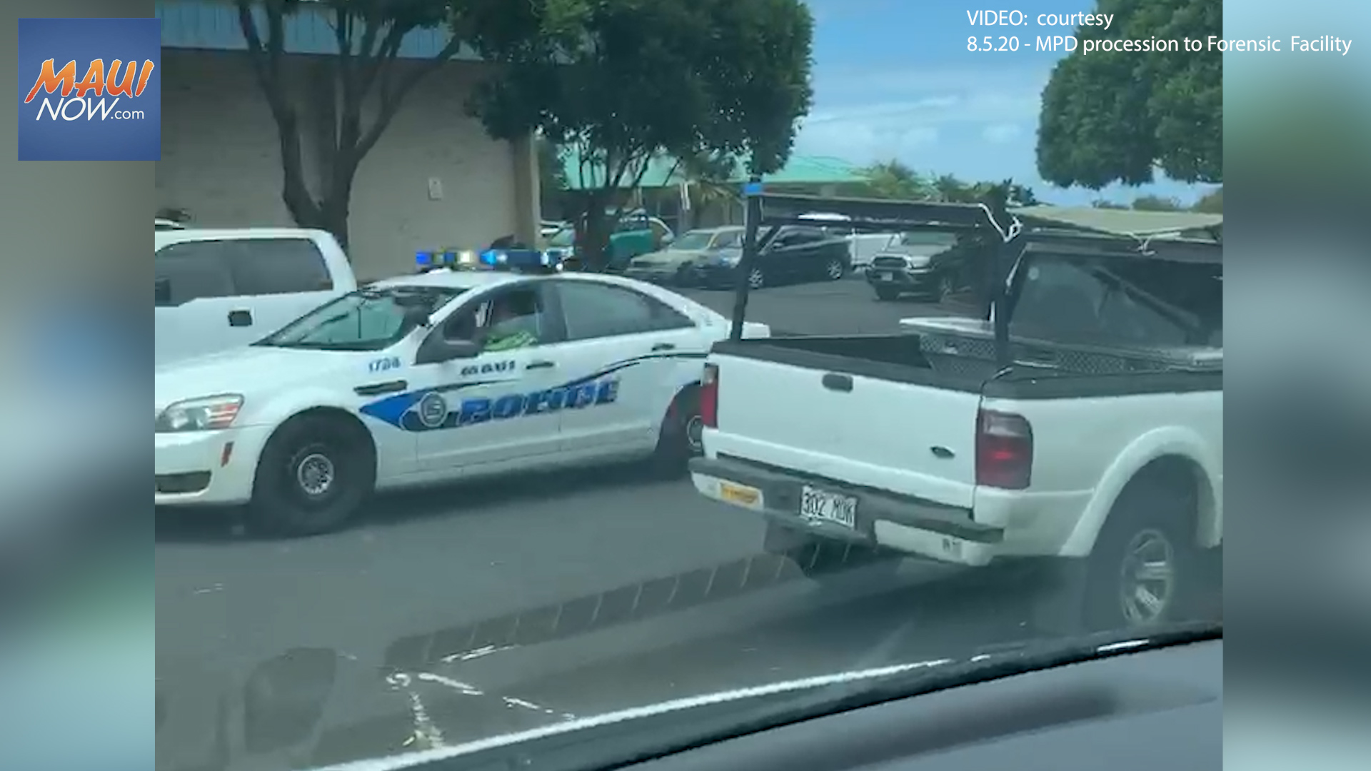Maui Police Officer Death Investigation Underway