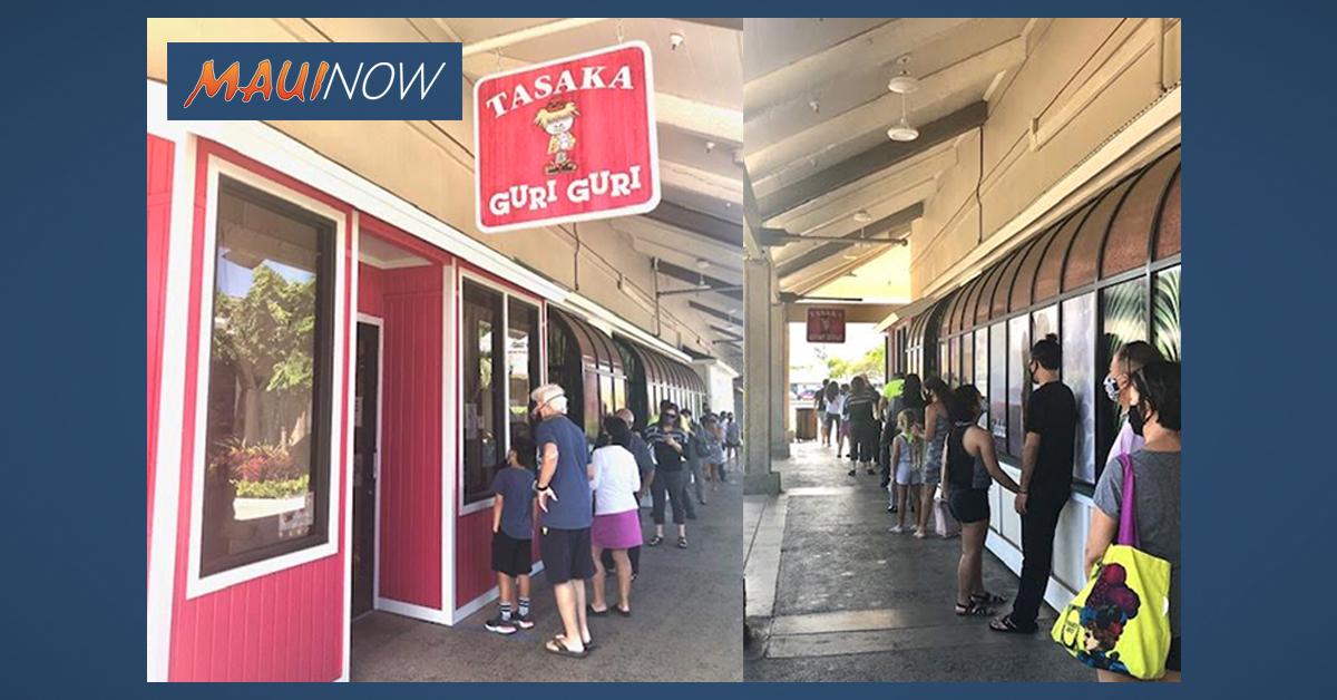 Newly Renovated Tasaka Guri Guri Reopens After Five Months