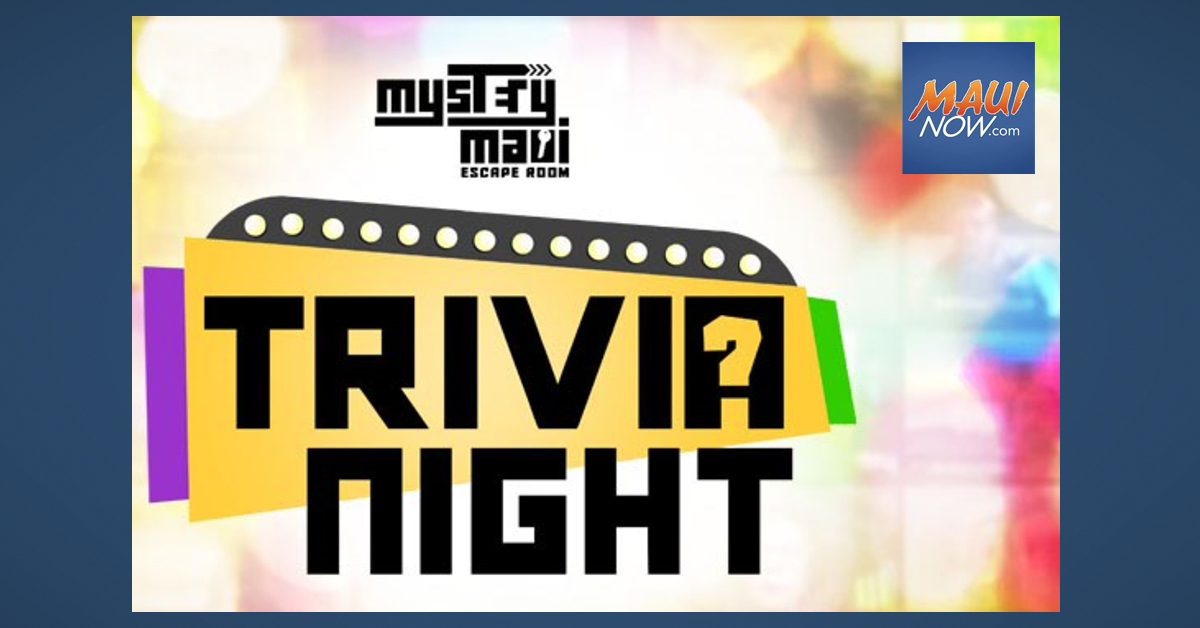 Maui Trivia Tonight at Home With the Family