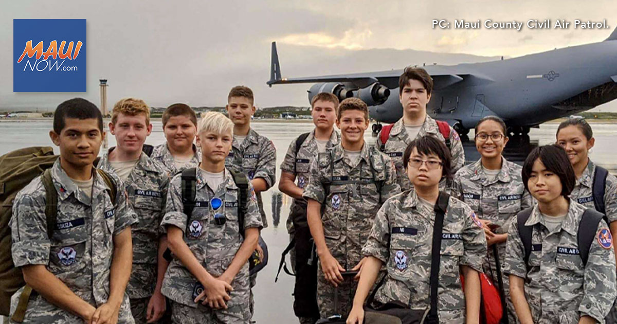 Maui County Civil Air Patrol Squadron Plans Virtual Open House