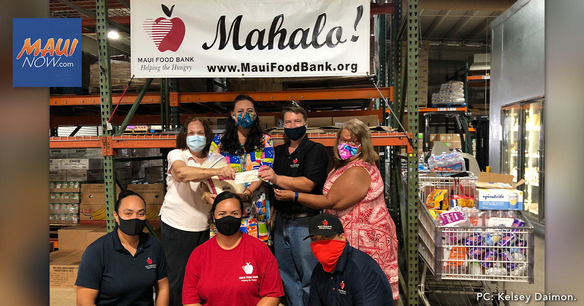 RAM Virtual Food Drive Yields Thousands of Pounds of Rice for Maui Food Bank