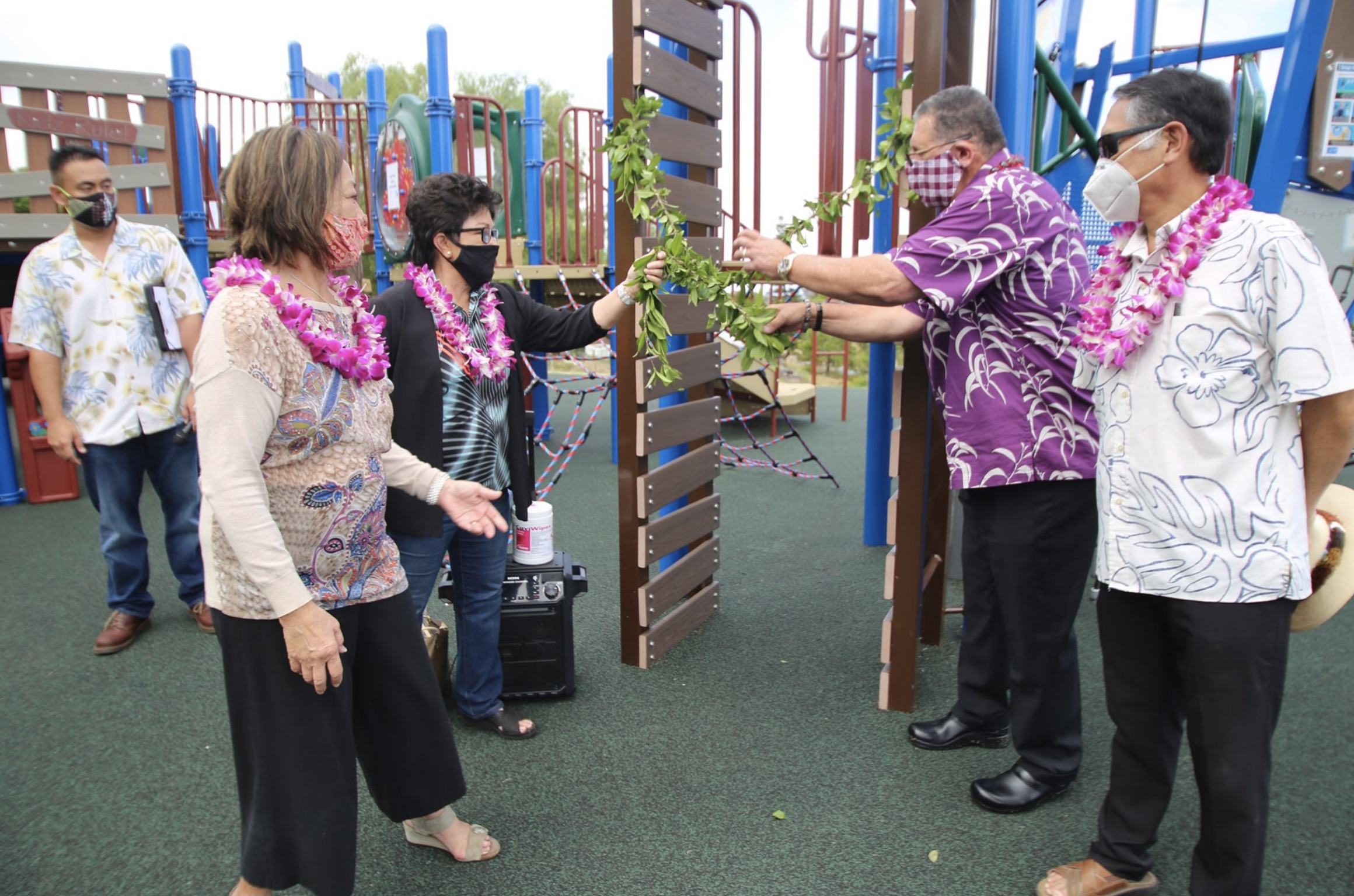 $775,000 Kula Park Playground Now Open