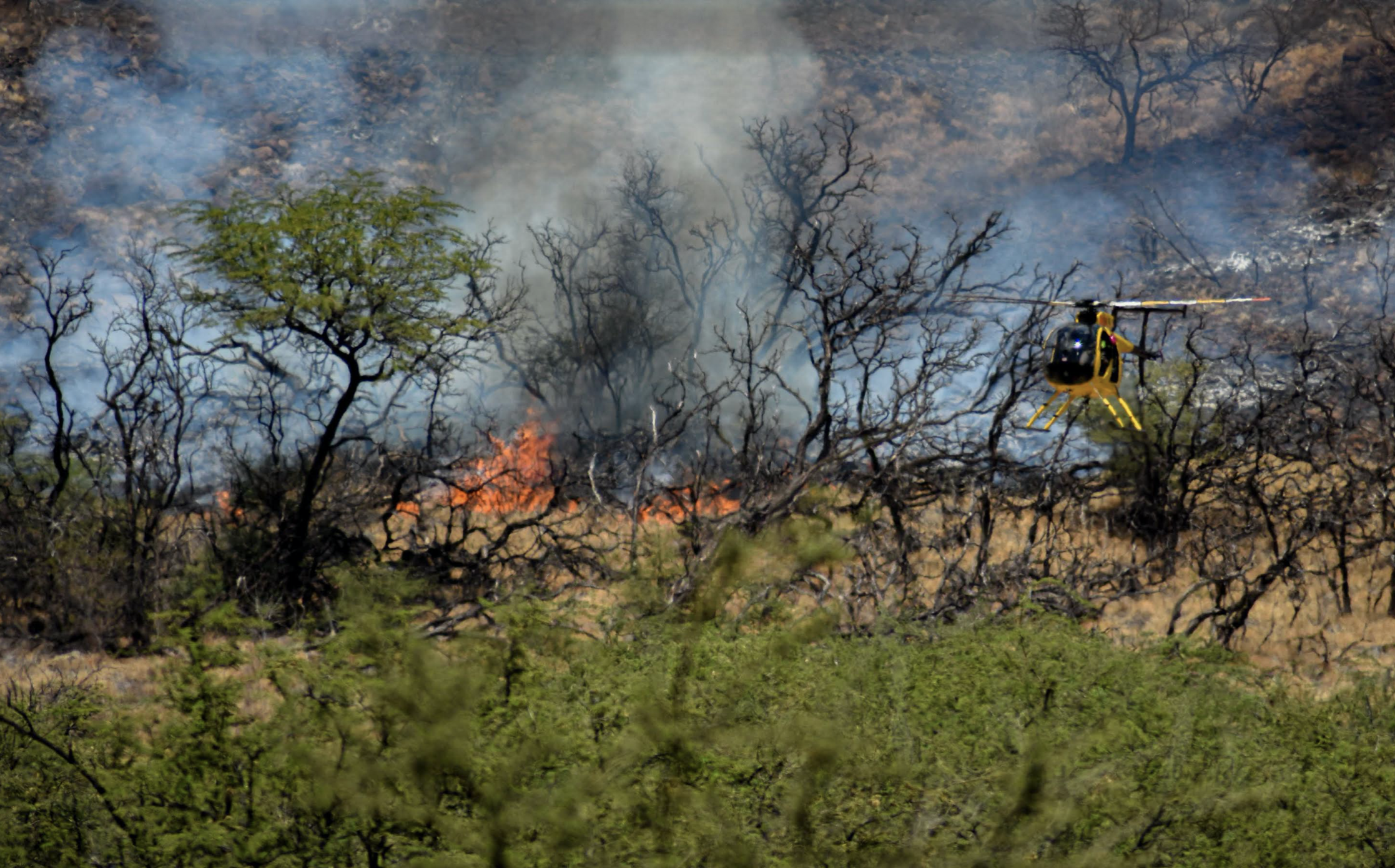 Air Assets Used to Battle Ukumehame Fire, 70% Contained