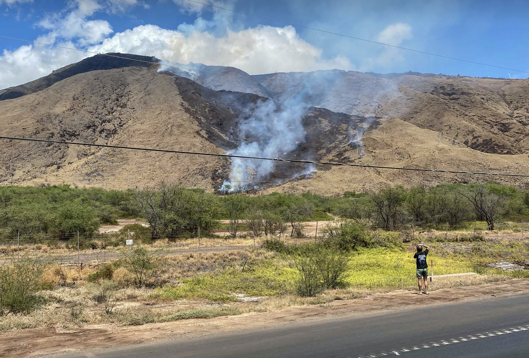 UPDATE: Ukumehame Fire on Maui Blackens 105 Acres, 100% Contained