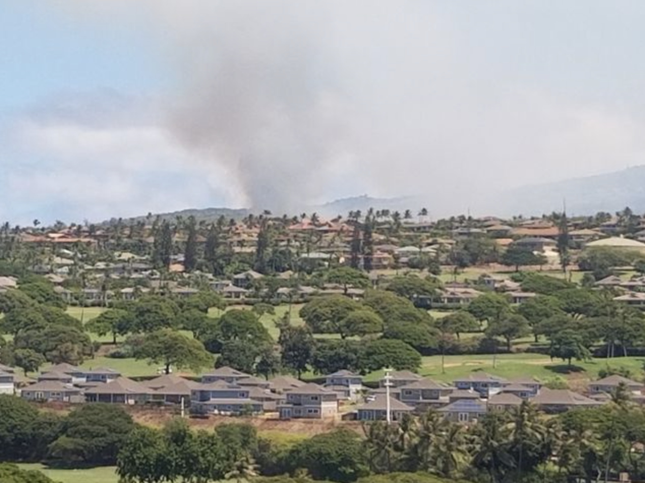 Kapalua Fire 100% Contained, Burn Area Monitoring Continues