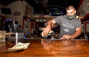 Da Babooze owner and bartender Josh Curi