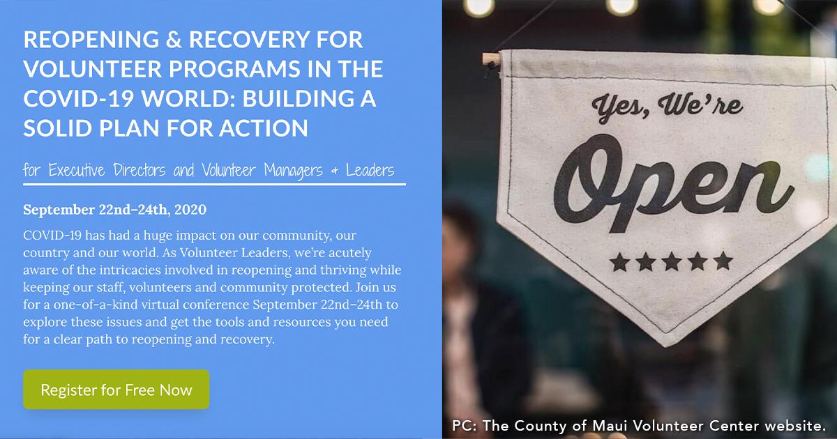 Virtual Workshop to Help Maui Volunteer Programs in Wake of COVID-19