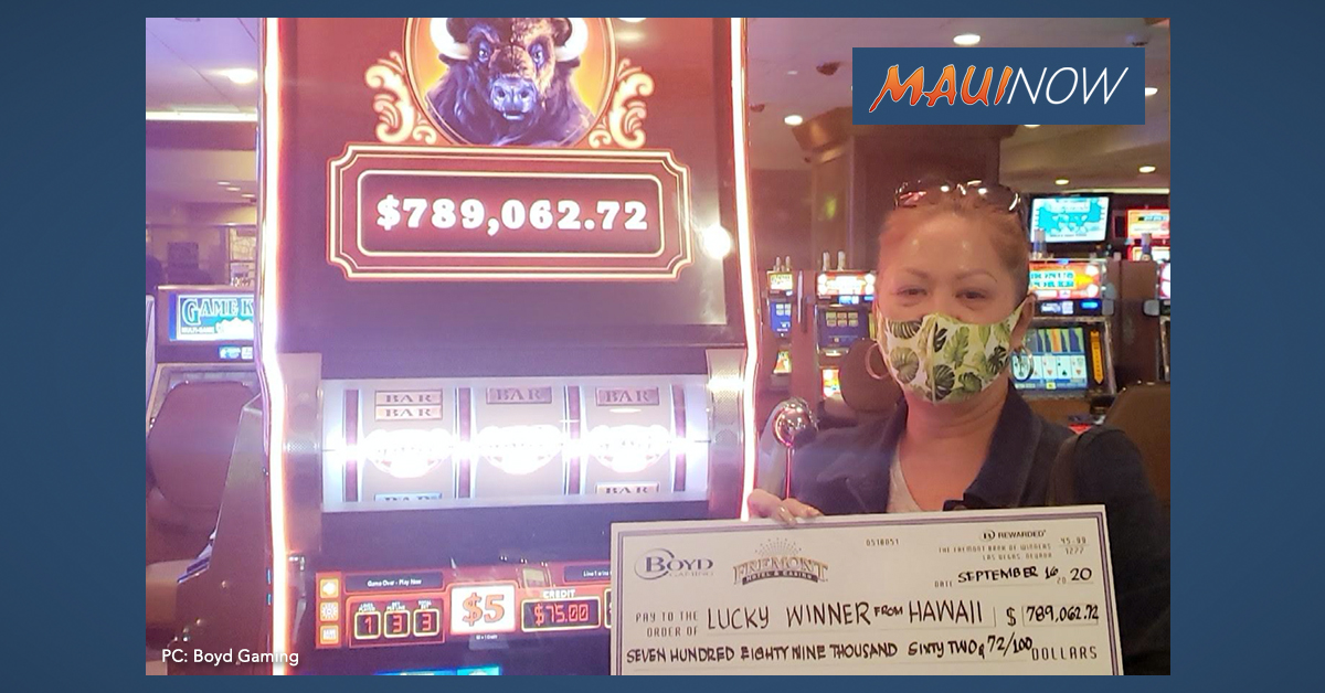 Hawaiʻi Woman Hits Nearly $790K Jackpot at Fremont Hotel in Las Vegas