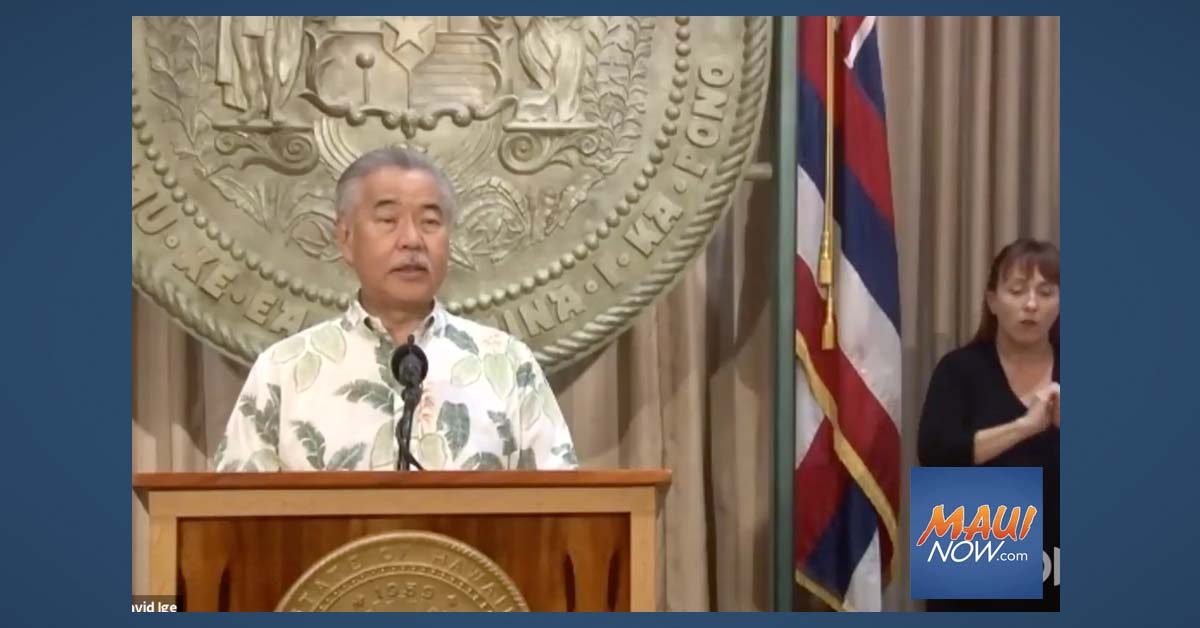 Gov. Ige Announces Rent Relief and Housing Assistance Program