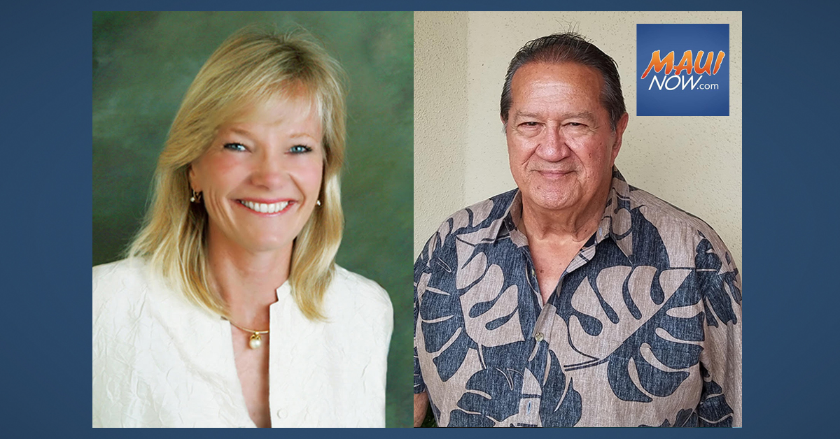 """Friends of Go Maui"" to be Chaired by Mercer ""Chubby"" Vicens and Wendy Rice Peterson"