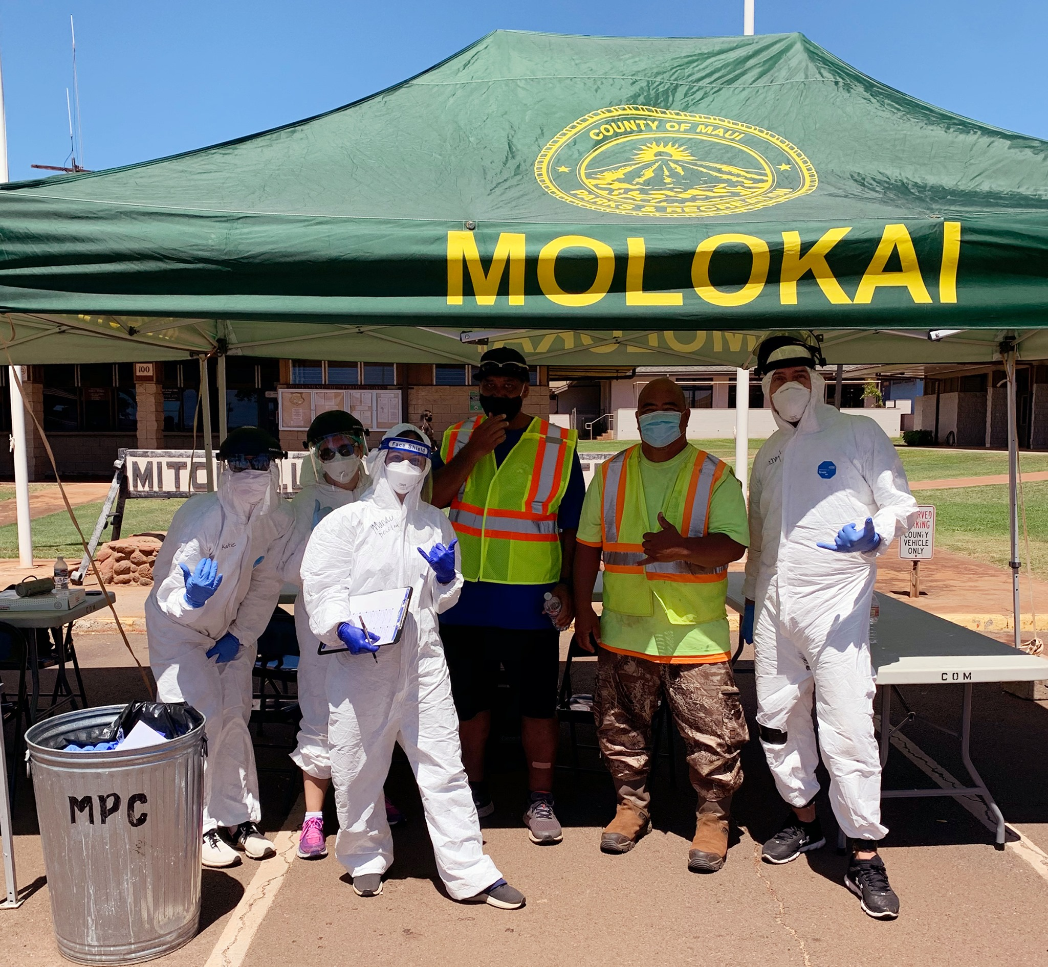 Drive-Through COVID-19 Testing and Mask Distribution, Wednesday, Sept. 16, on Moloka'i