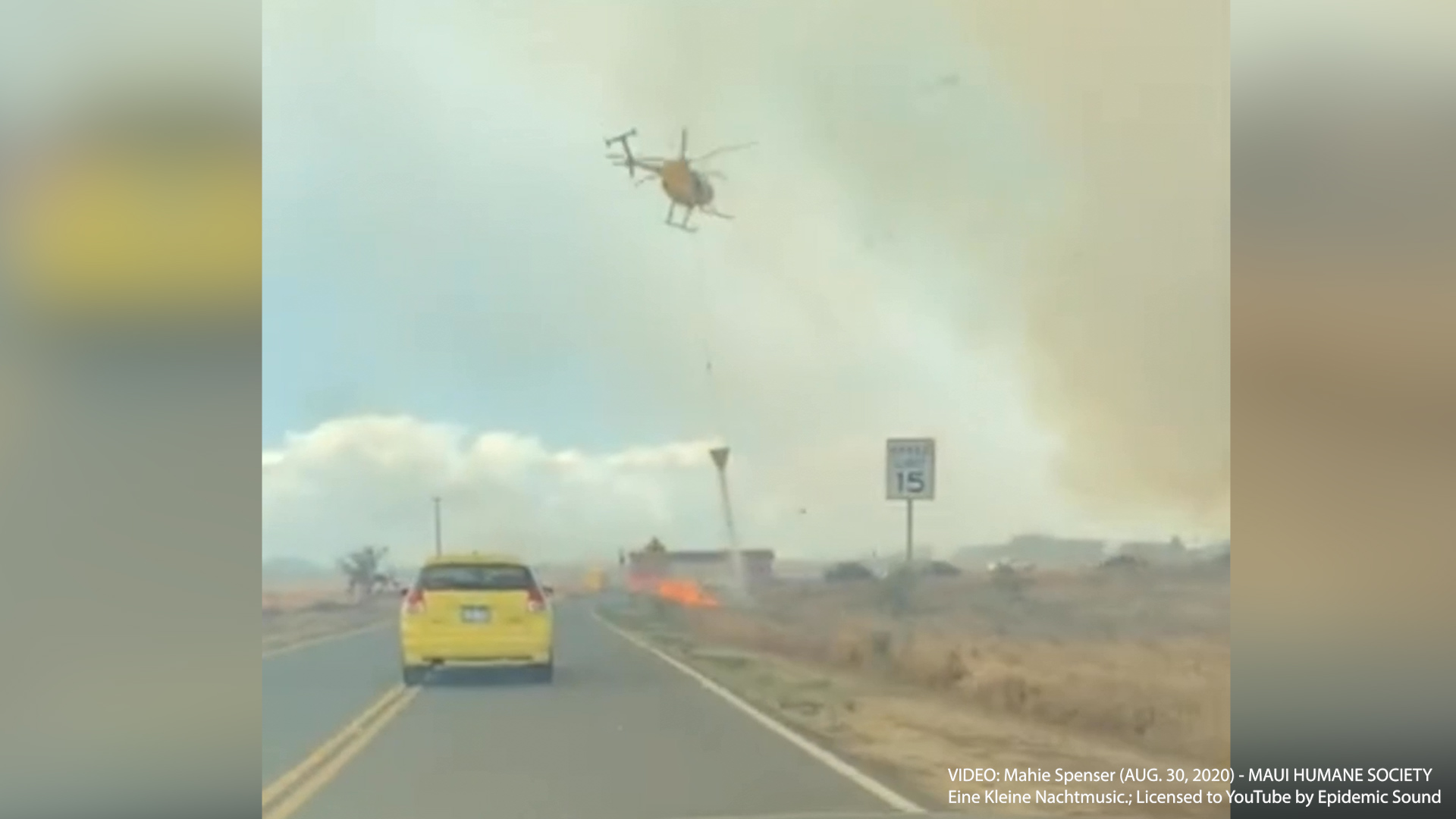 Video Shows Just How Close Last Week's Wildfire Came to Maui Animal Shelter