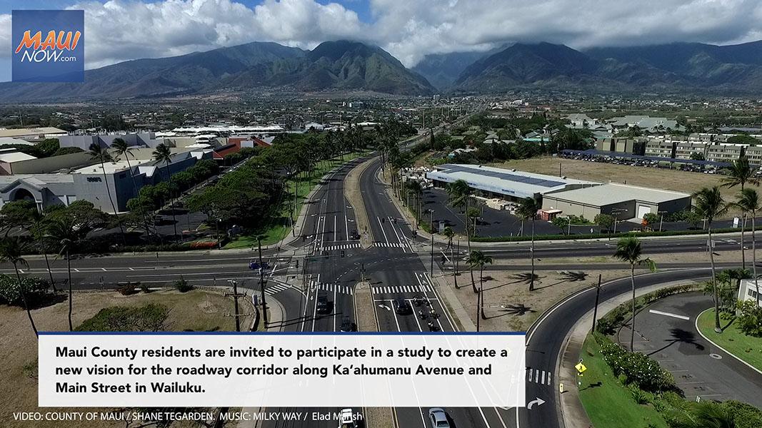 Ka'ahumanu Avenue Community Corridor Virtual Town Hall, March 31