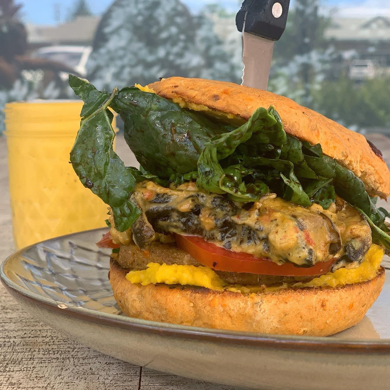 Moku Roots Taro Burger of the Week