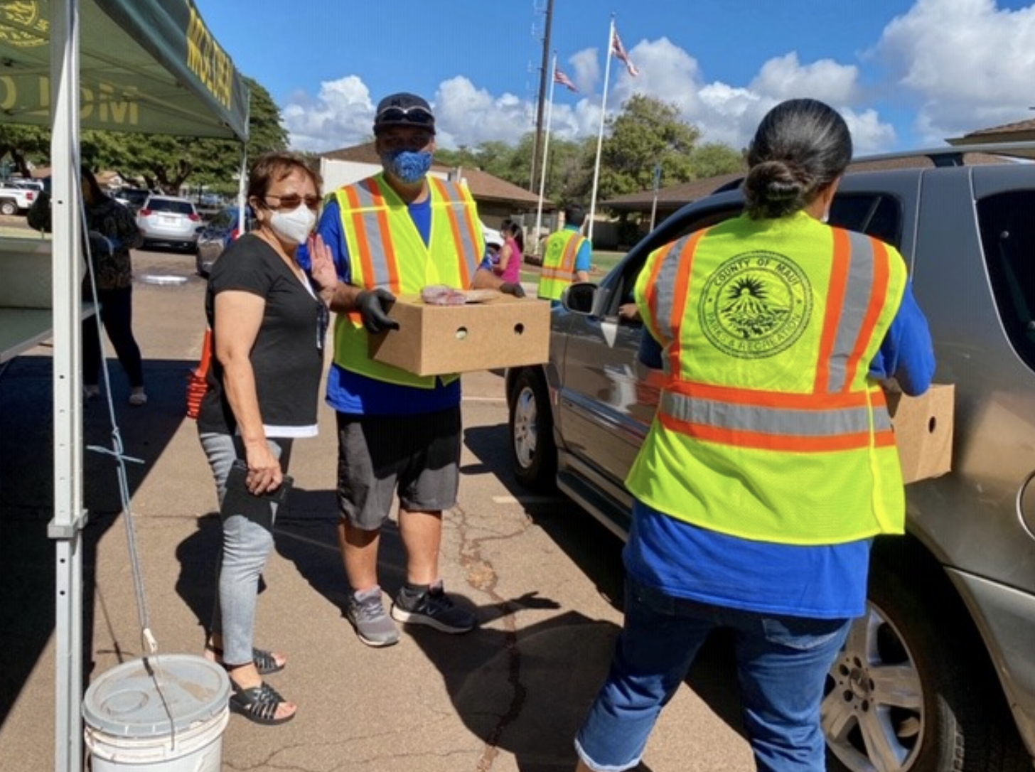 Maui County to Distribute Holiday Food Boxes to Qualified Residents