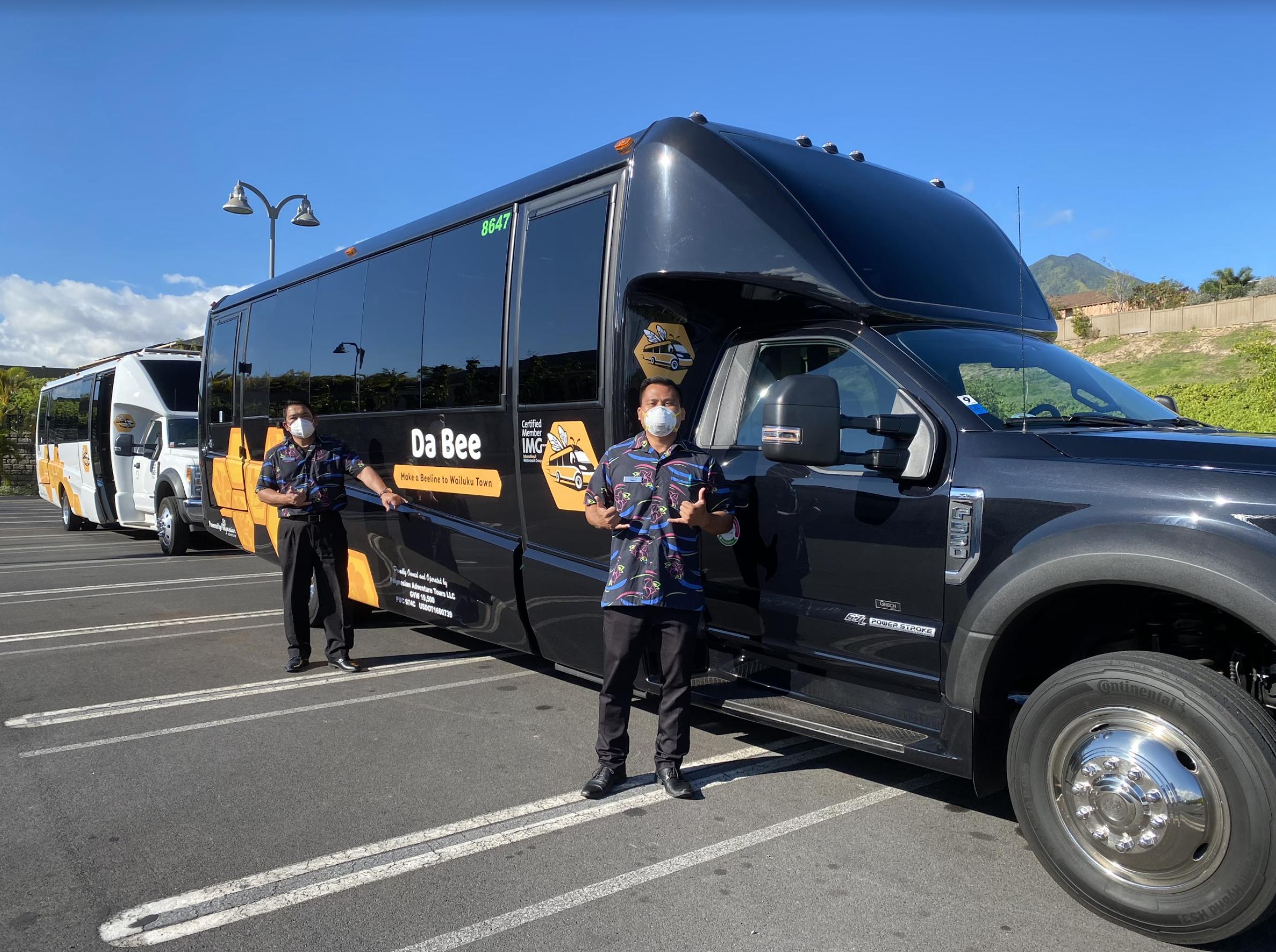 Da Bee Shuttle Route Now Includes Stop at Mā'alaea Park & Ride
