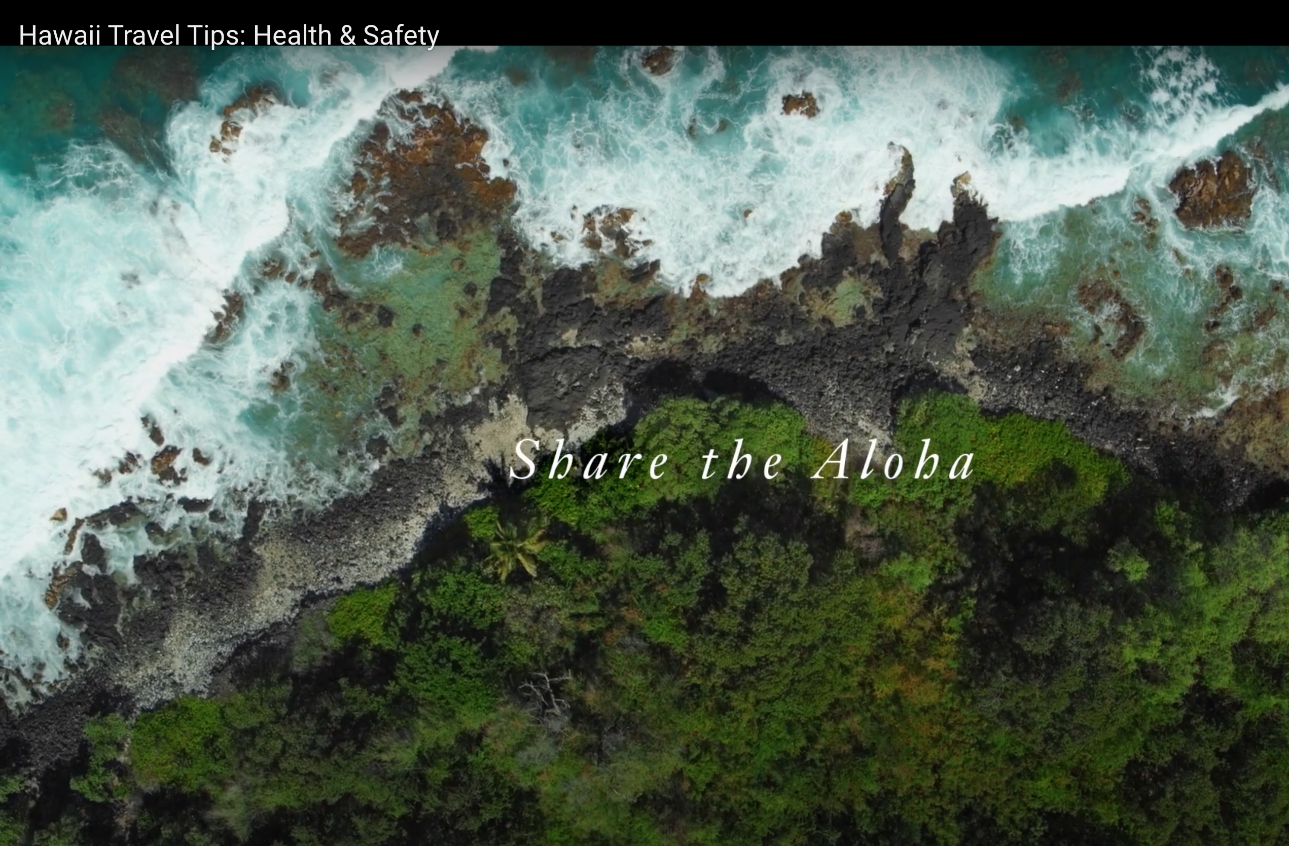 New Video Encourages Tourists To Help Keep Hawaiʻi Safe from COVID-19