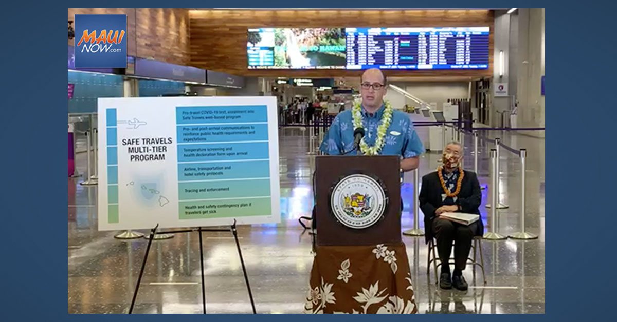 Travel from Japan to Hawai'i Begins Nov. 6 with Pre-Travel Testing Program