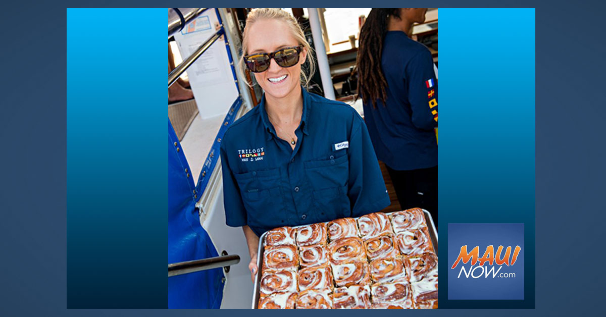 Trilogy Excursions Providing Free Cinnamon Rolls and Coffee on Oct. 4 in Lahaina and Kihei