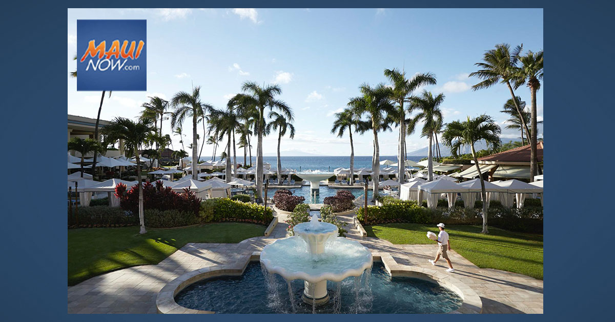 Four Seasons Maui Welcomes Guests Back with Specialized Travel Solutions, Nov. 20, 2020