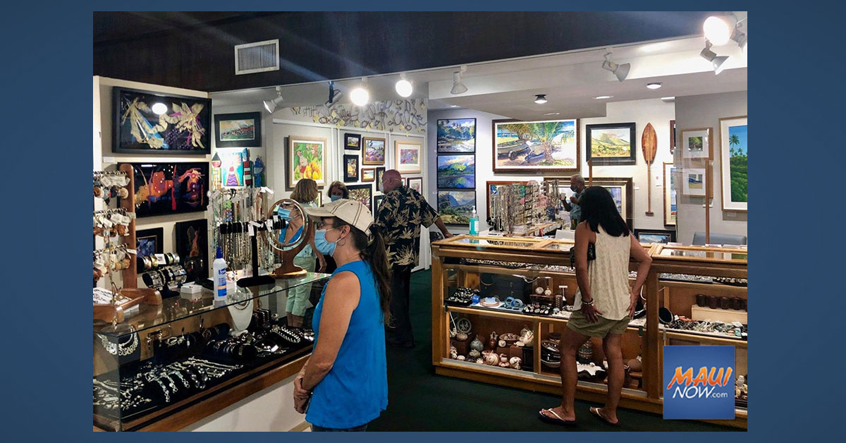 Friday Night is Art Night in Historic Lahaina Town