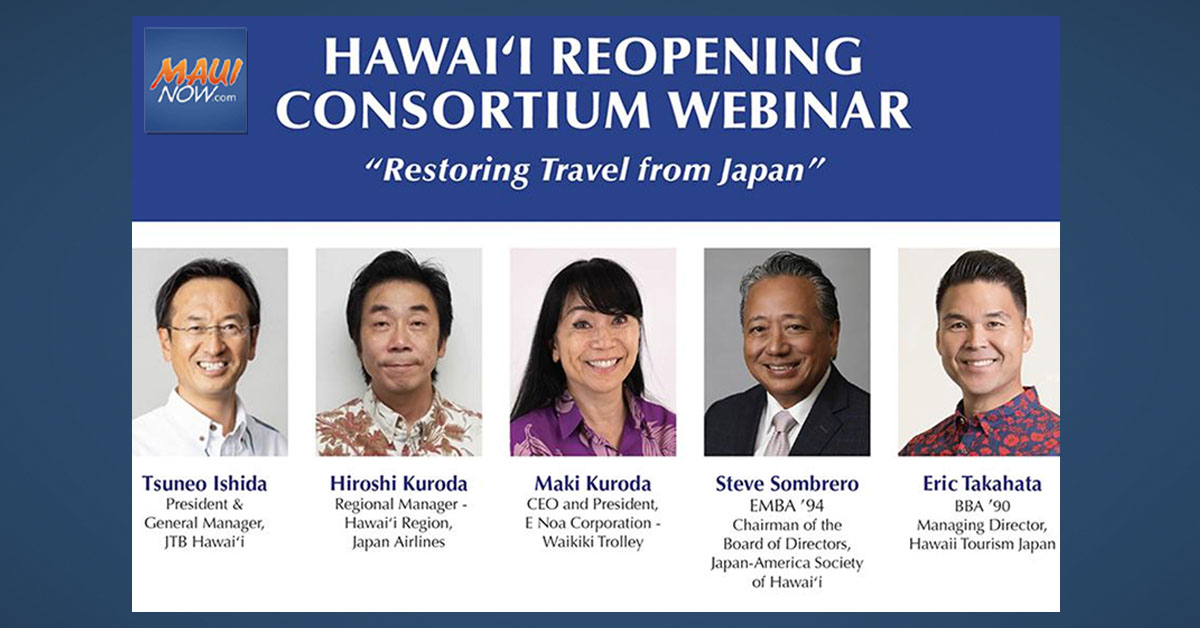 Webinar Explores Ways Hawaiʻi Could Restore Travel From Japan