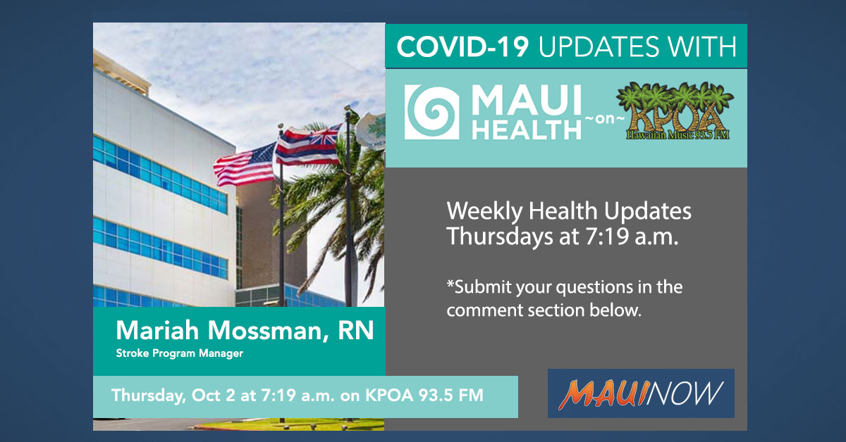 Maui Health Interview: Stroke Health and COVID-19