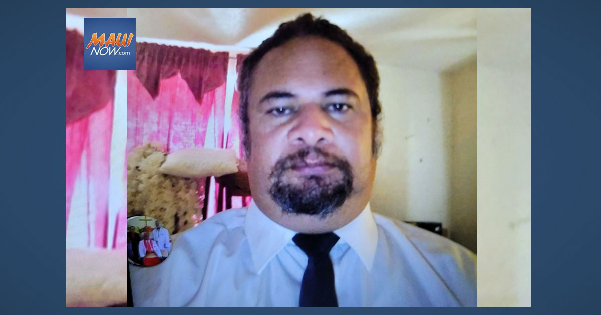 UPDATE/Missing Person: Kahului Man Last Seen at Home on Oct. 3
