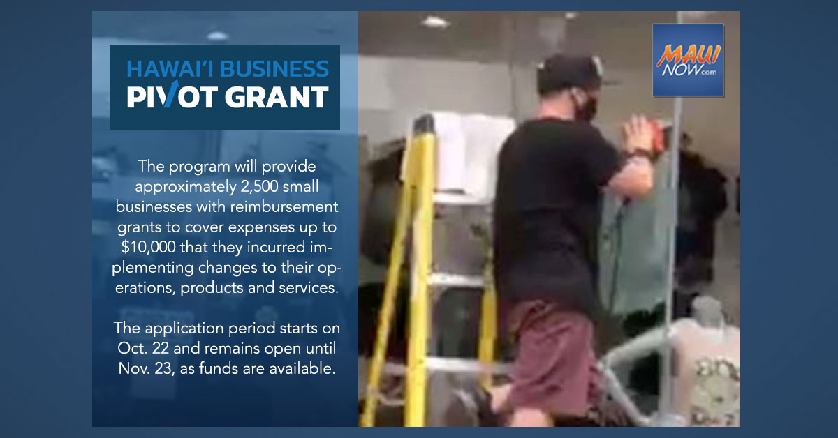 Hawai'i Small Businesses to Get $25 Million in Grants to Adjust to COVID-19-Related Marketplace Changes