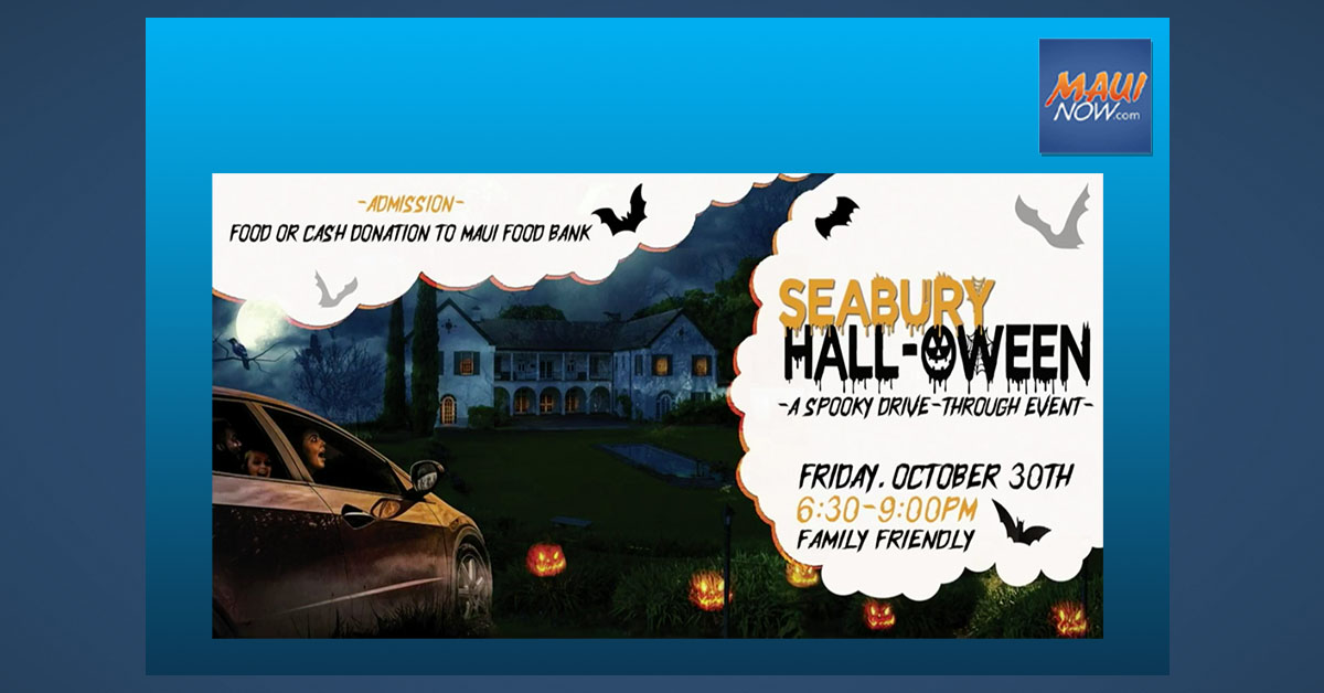 "Maui's Seabury Hall Hosts: ""Hall-Oween"" Family-Friendly Drive Through, Oct. 30"