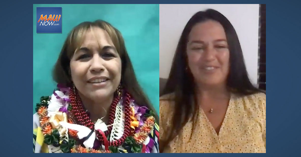 Two Maui Teachers Recognized as 2021 Complex Area Teachers of the Year