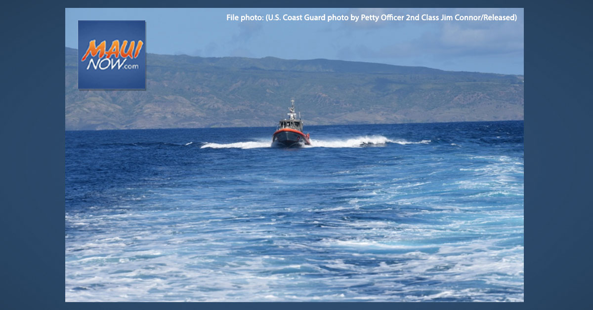 Six Mariners Rescued from Disabled Vessel off Lāna'i