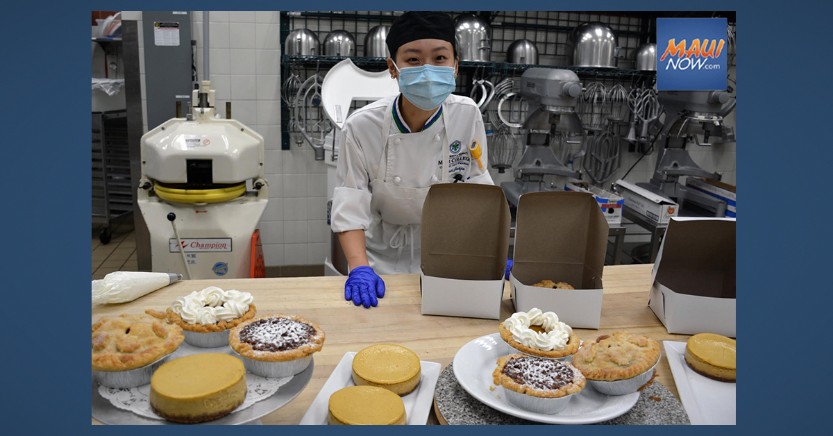 Thanksgiving Pies To Go From UH Maui College Culinary Arts