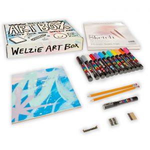 Hawaiʻi Surf Artist Launches Signature Welzie Art Box for Children and Adults