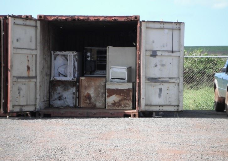 Hāna Metals and Electronics Recycling Event to Run by Appointment, Dec. 3-5