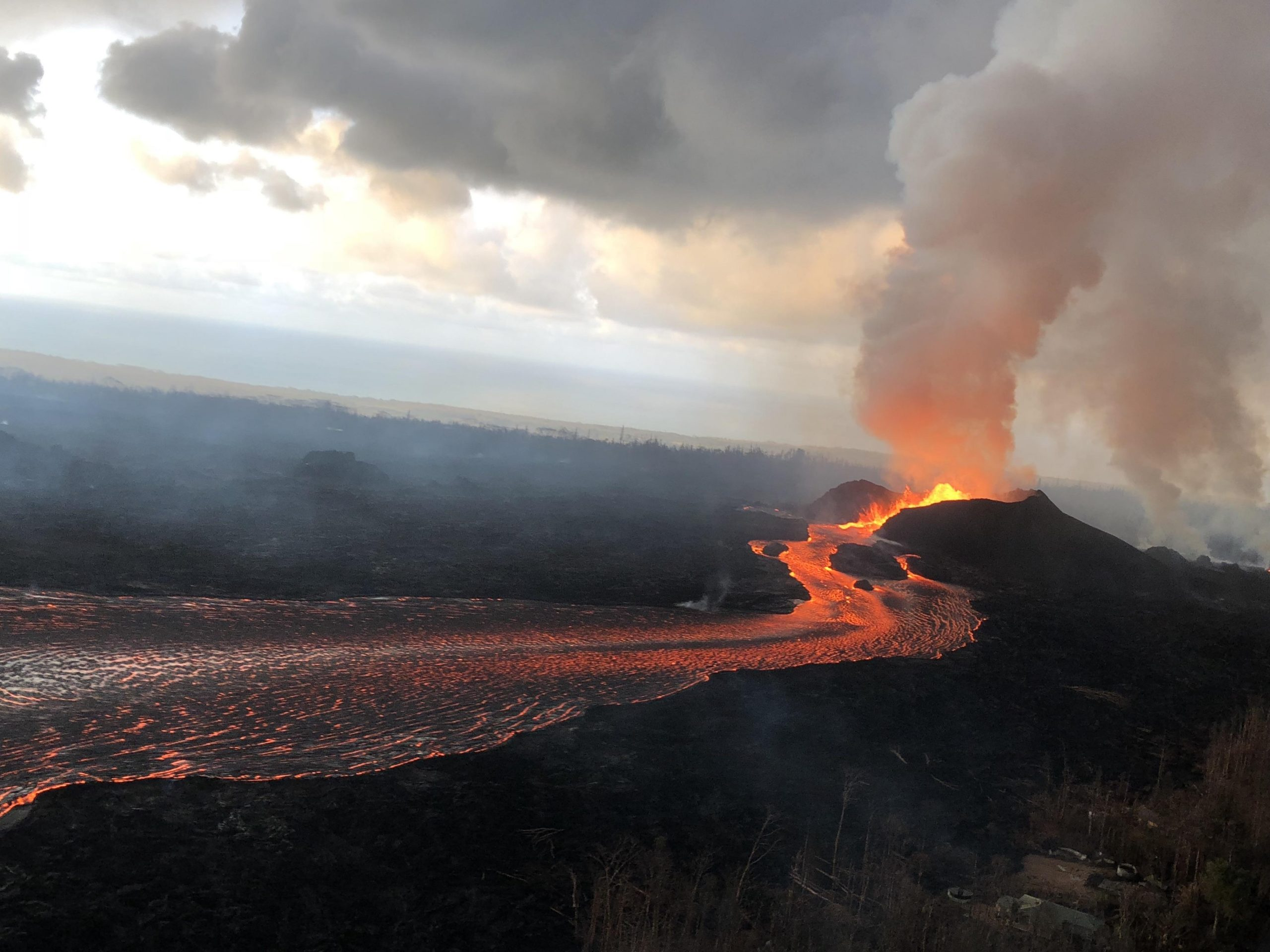 Study: 2018 Kīlauea Volcano Eruption Triggered by Decade-Long Pressure Buildup