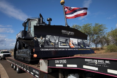 Goodfellow Bros. in Kihei Receives World's First Electric Drive Dozer by Caterpillar