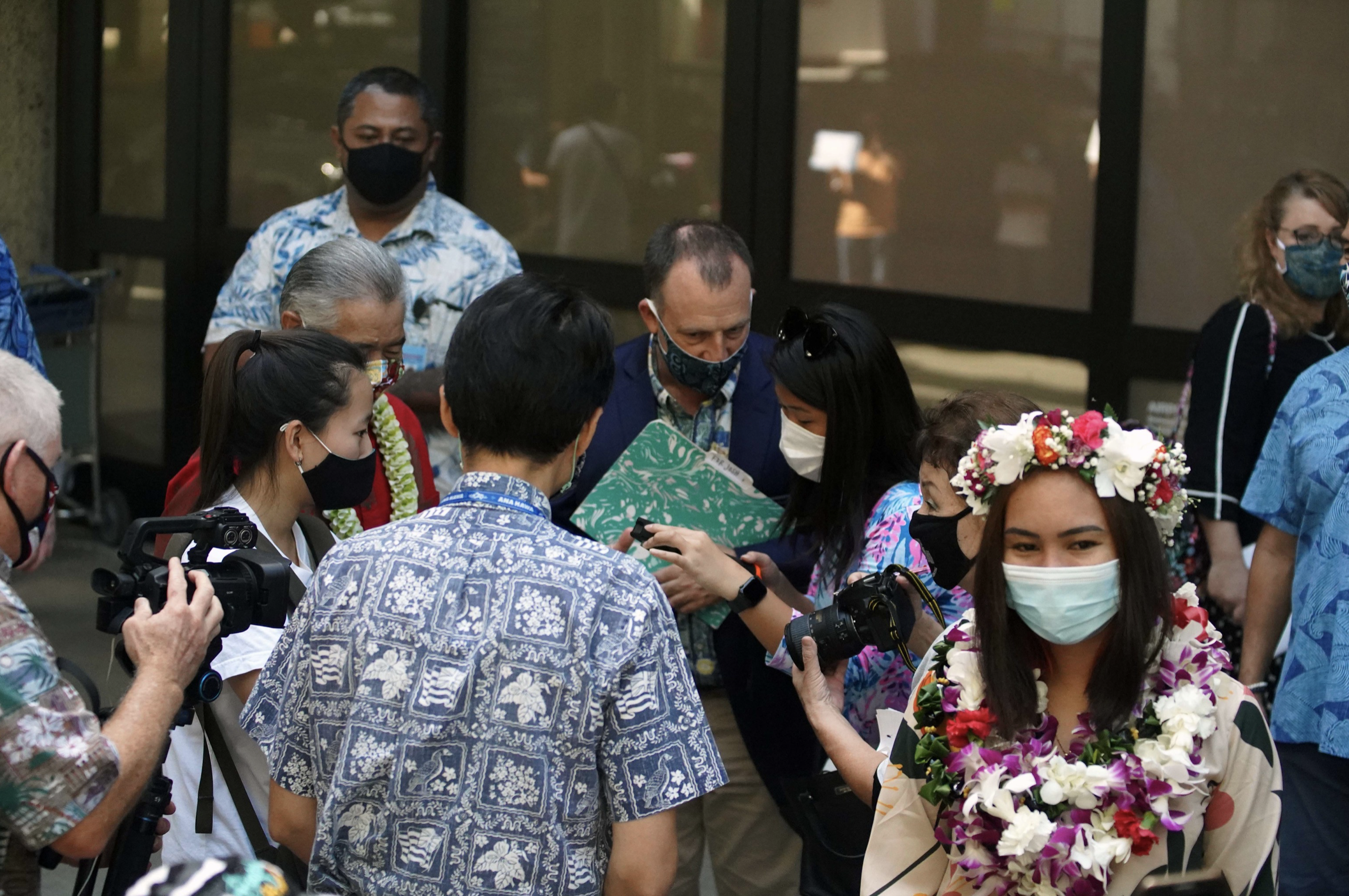Hawai'i Welcomes First International Flight From Japan Under Safe Travels Program