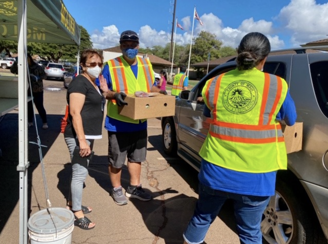 Moloka'i  Drive-Through Food Distribution, Friday, Nov. 20