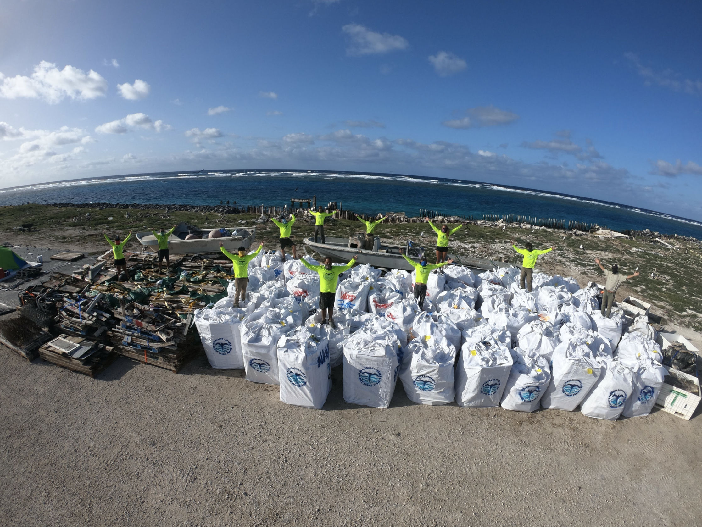 82,600 Pounds of Debris and Trash Removed From Papahānaumokuākea Marine National Monument