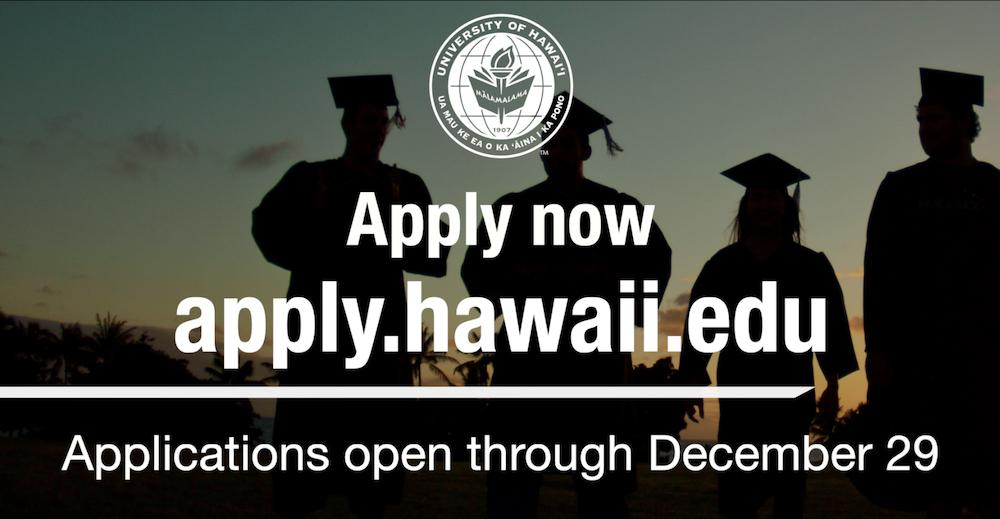 UH Community Colleges Extend Application Deadline to Dec. 29