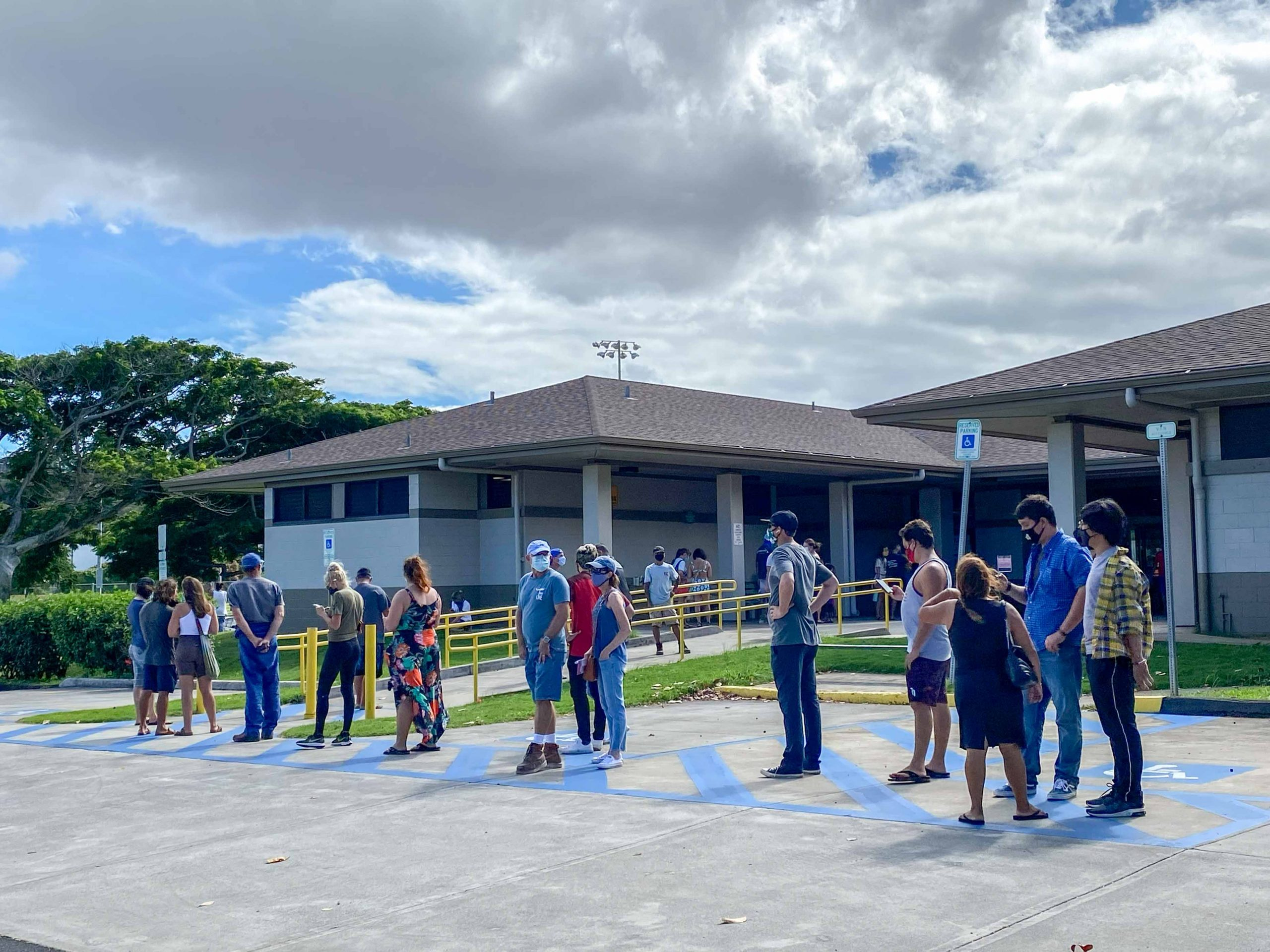 UH: Record Turnout Sparks Close 2020 Election